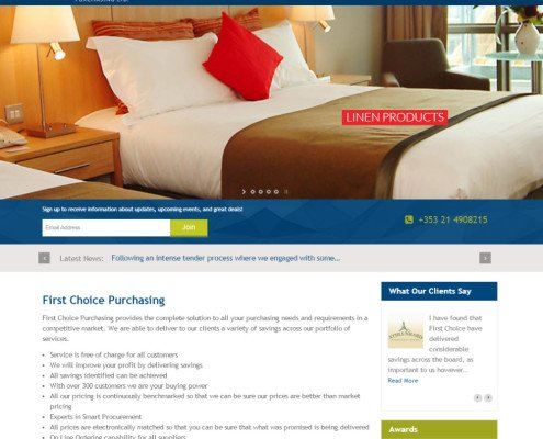 Cork web design