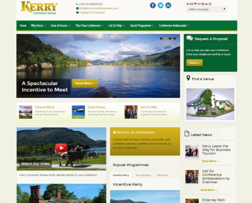 website design Kerry