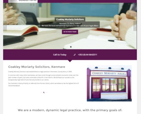 Kerry Website design Ireland