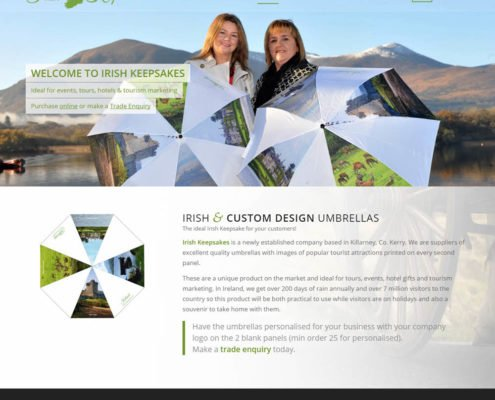 Kerry Web Design Irish Keepsakes