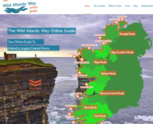 Website design Kerry Wild Atlantic Way