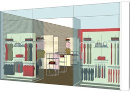 3D retail model Ireland
