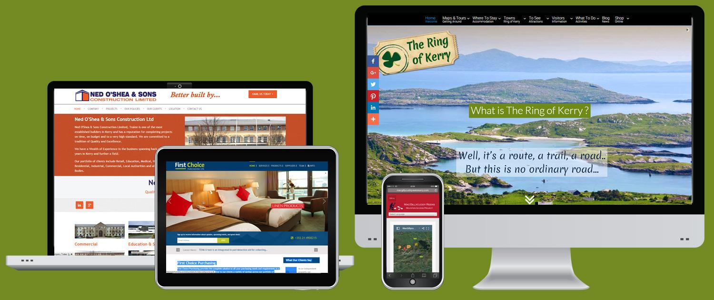Kerry website design