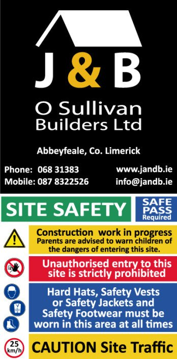 Site Safety Sign Kerry