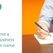 how to choose a startup business name and domain name