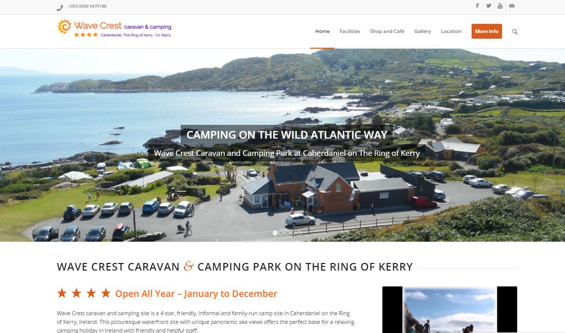 Wave Crest Camping Kerry