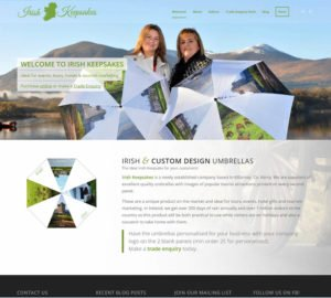 Kerry Web Design Irish Keepsakes