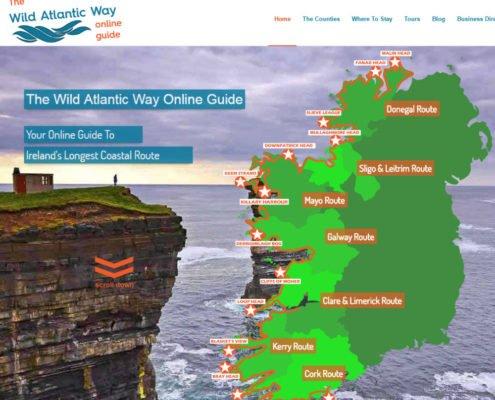 Website design Kerry Wild Atlantic Way